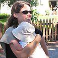 Francesa Rohr and baby Nico