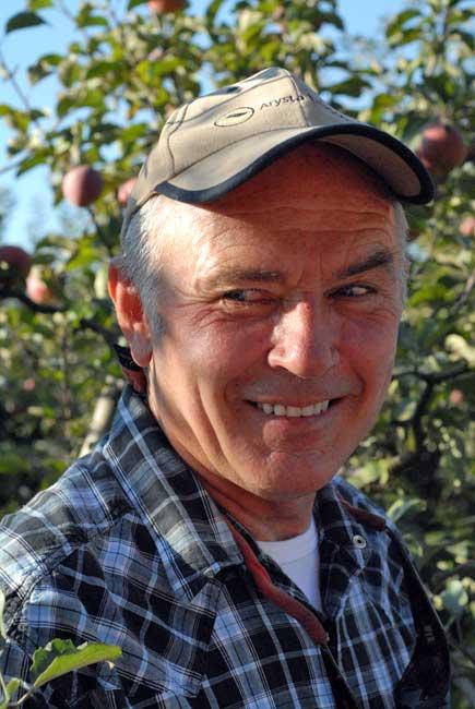 Bill Denevan, apple grower extraordinaire